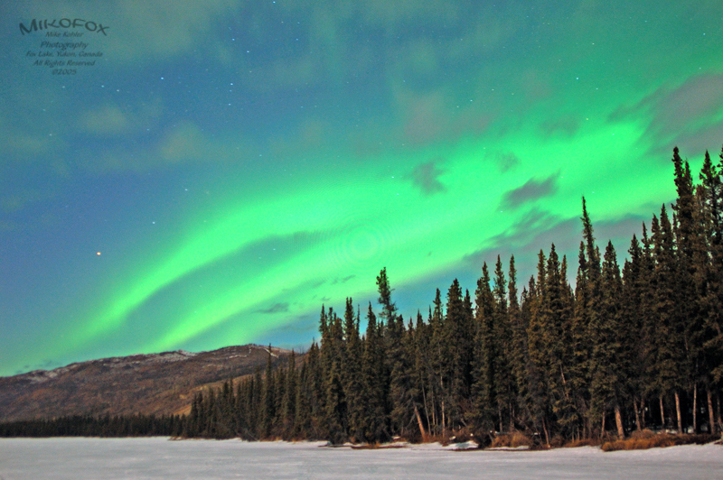 Aurora Borealis at Fox Lake